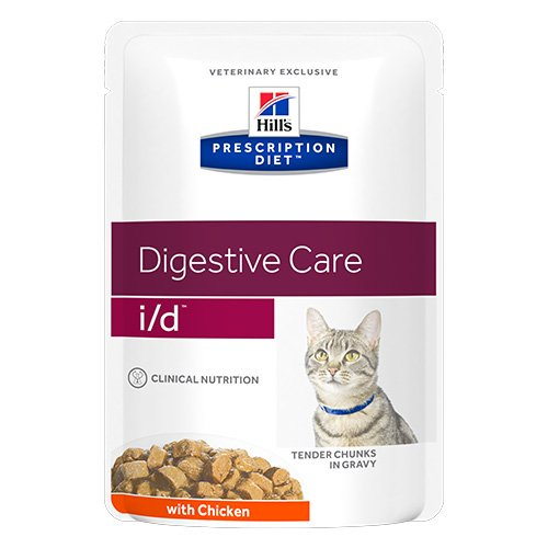 Hill's Prescription Diet i/d Digestive Care with Chicken Cat Wet Pouch