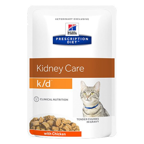 Hill's Prescription Diet k/d Kidney Care Chicken Cat Wet Pouch