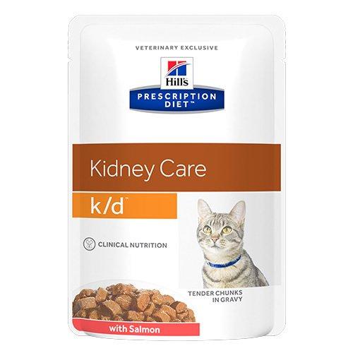 Hill's Prescription Diet k/d Kidney Care Salmon Cat Wet Pouch