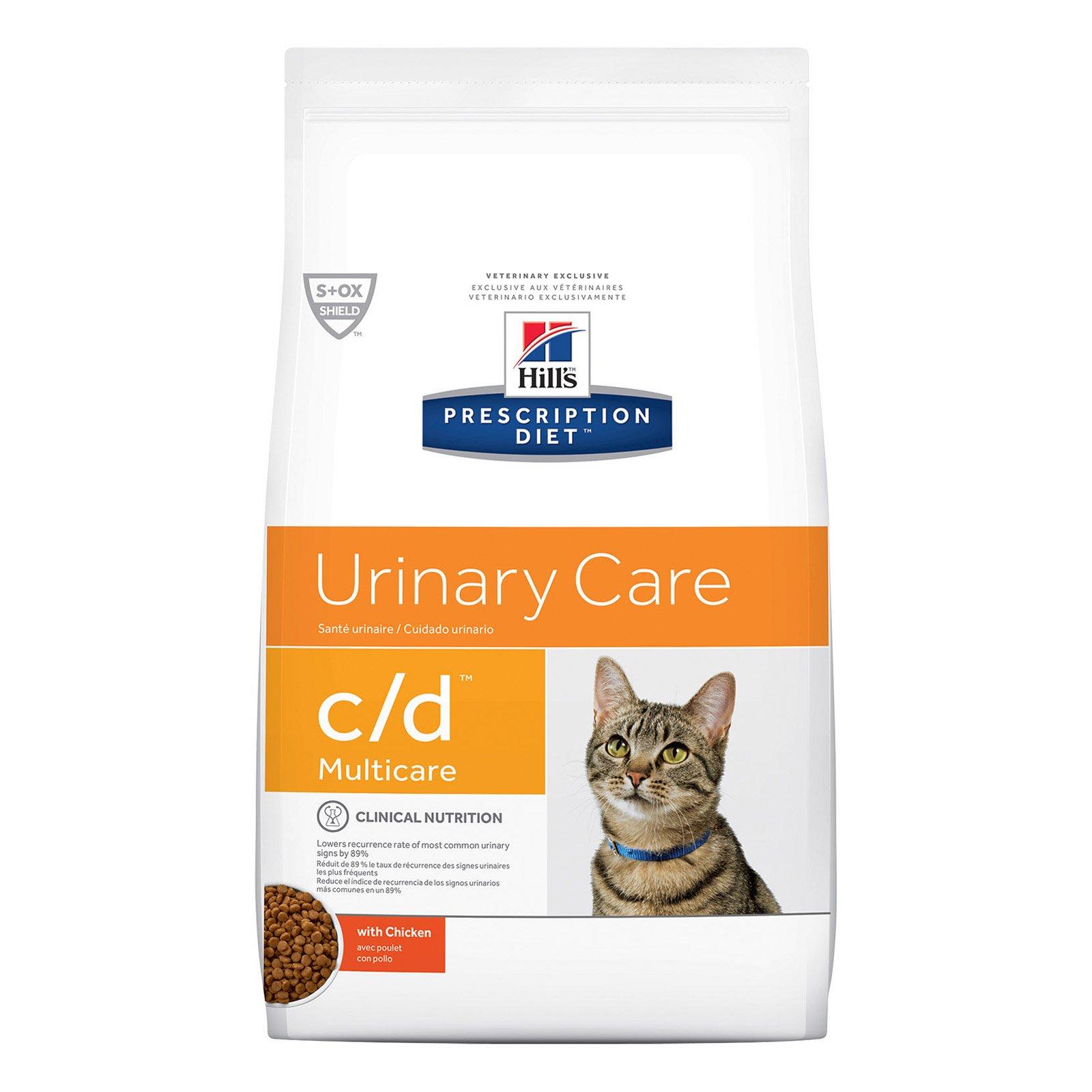 Hill's Prescription Diet c/d with Chicken Cat Wet Pouch 85gmX12