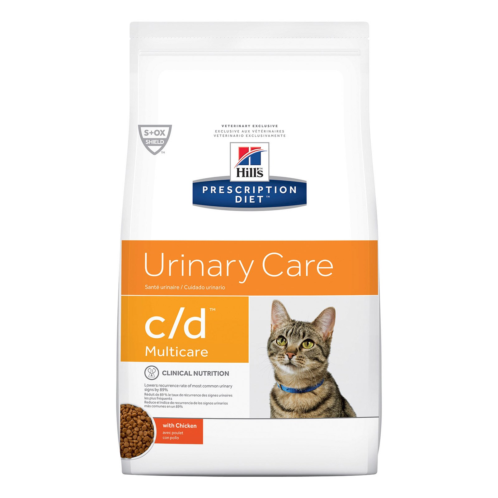 Hill's Prescription Diet C/D Multicare Urinary Care With Chicken Dry Cat Food  6 Kgs
