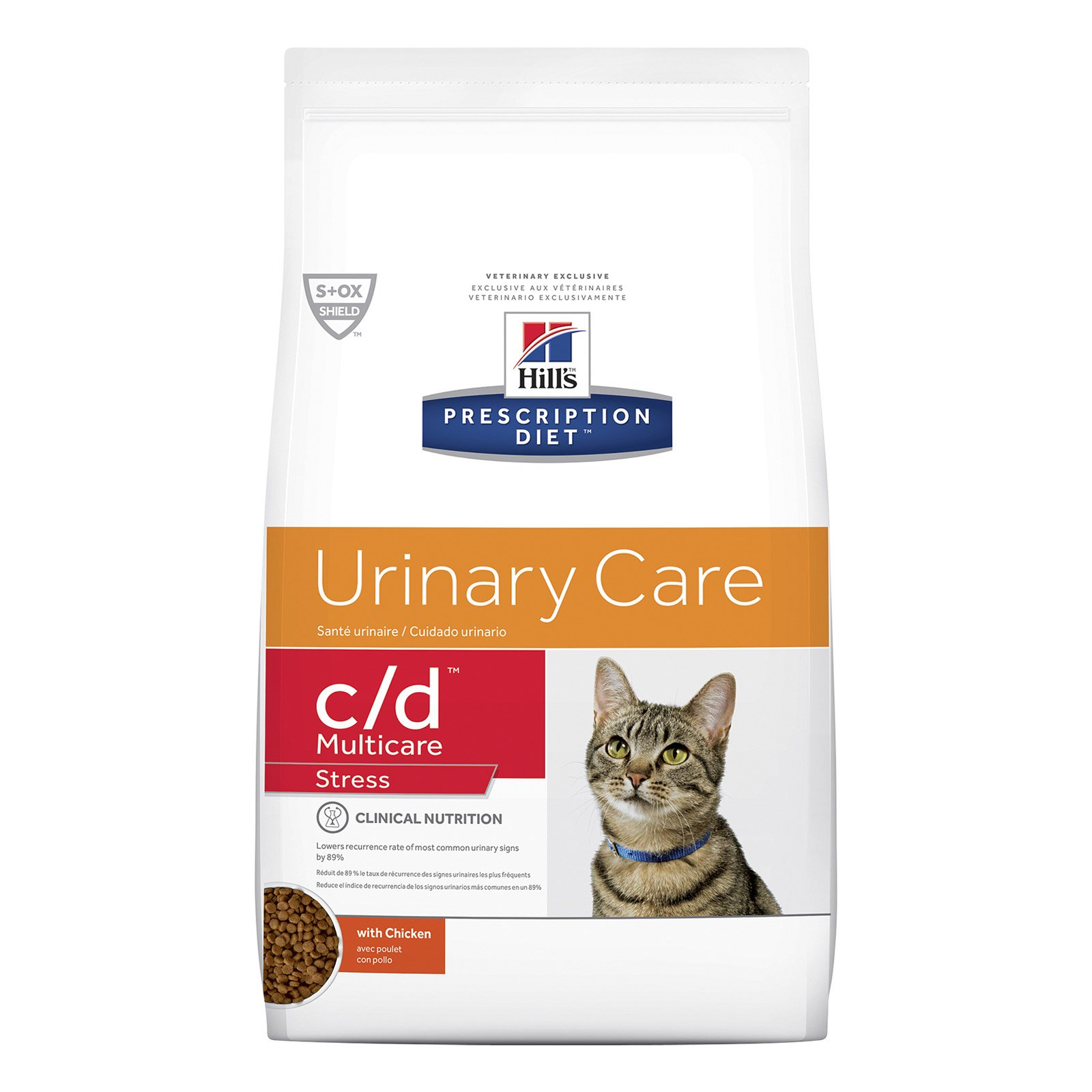 Hill's Prescription Diet c/d Multicare Stress Urinary Care Dry Cat Food