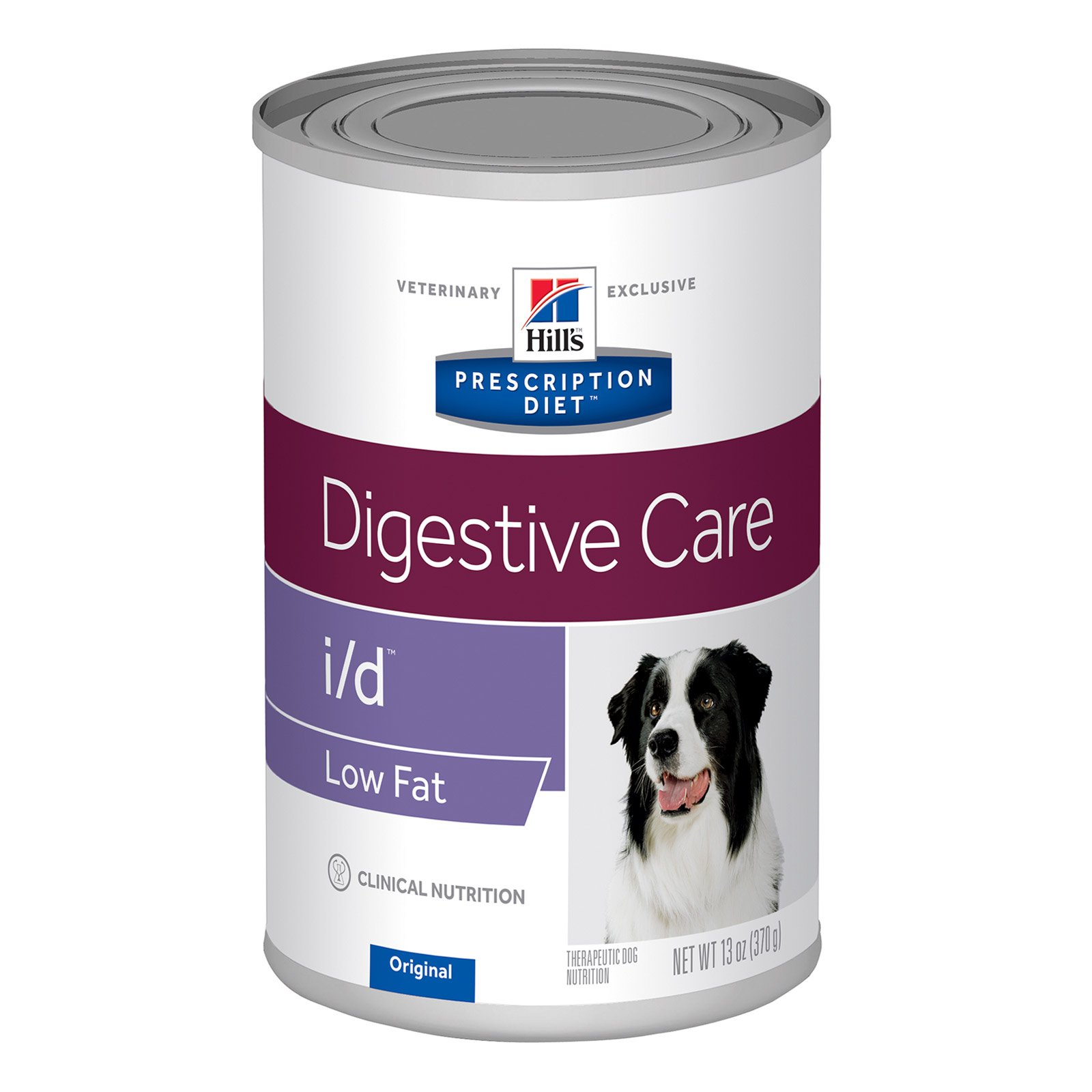Hill's Prescription Diet i/d Low Fat Digestive Care Canned Dog Food 370 Gm