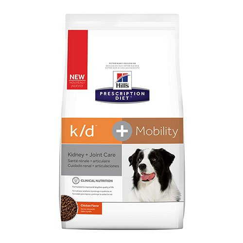 Hill's Prescription Diet k/d + Mobility Chicken Dry Dog Food