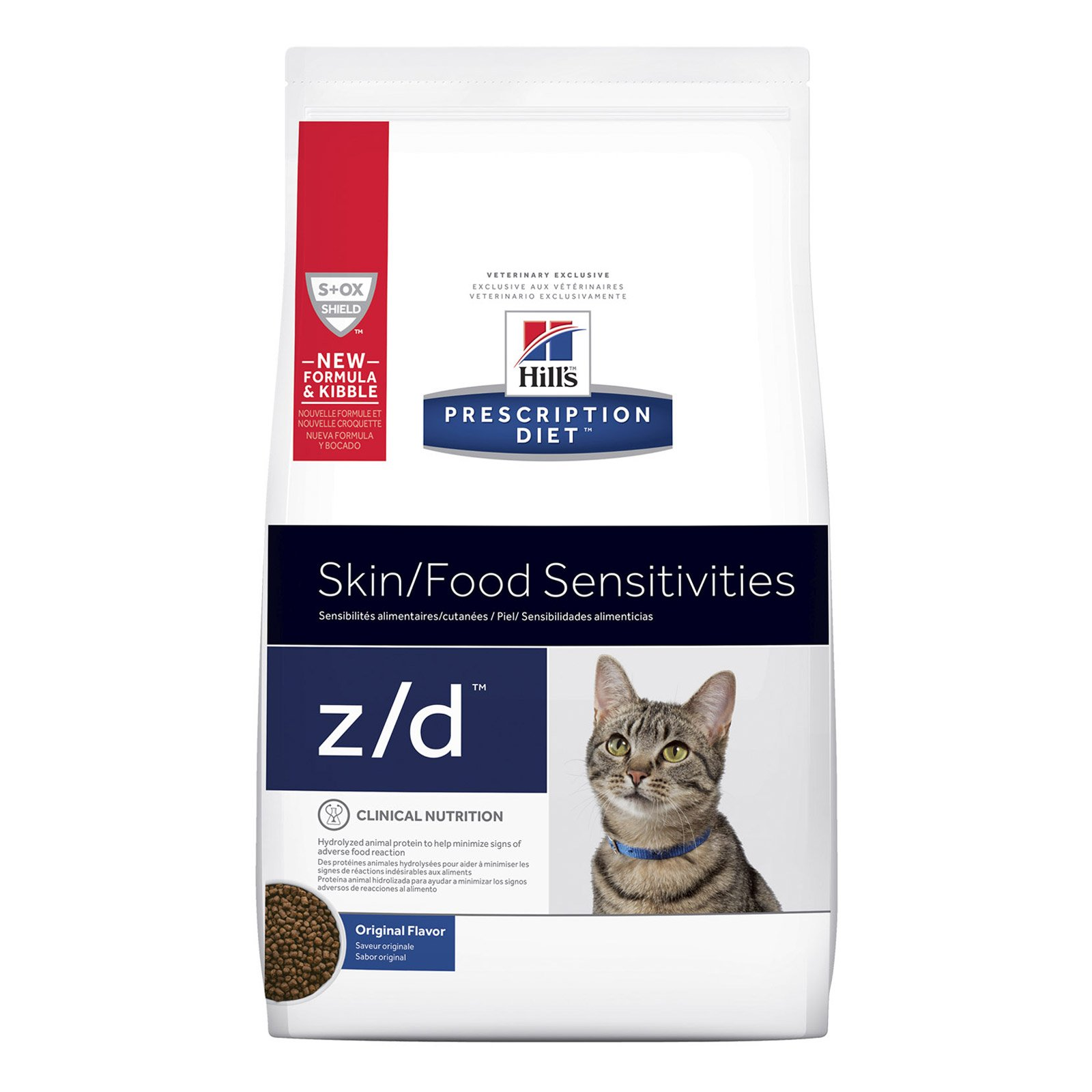 Hill's Prescription Diet z/d Skin/Food Sensitivities Dry Cat Food