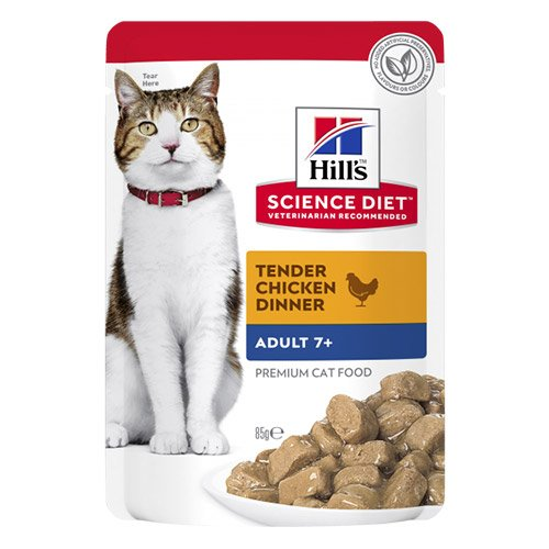 Hill's Science Diet Adult 7+ Cat Chicken Wet Pouch