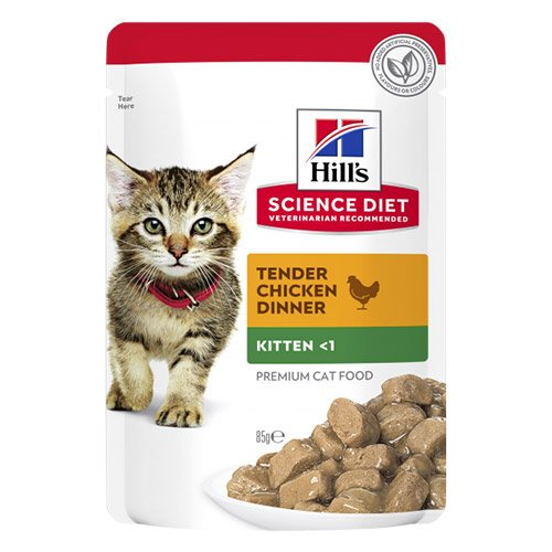 Hill's Science Diet Kitten Chicken Wet Pouch
