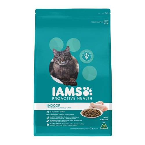 Iams ProActive Health Adult Indoor Cat Weight & Hairball Care