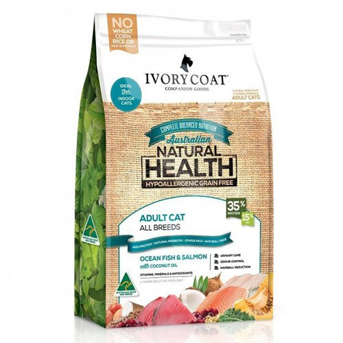 Ivory Coat Cat Adult Grain Free Ocean Fish and Salmon with Coconut Oil