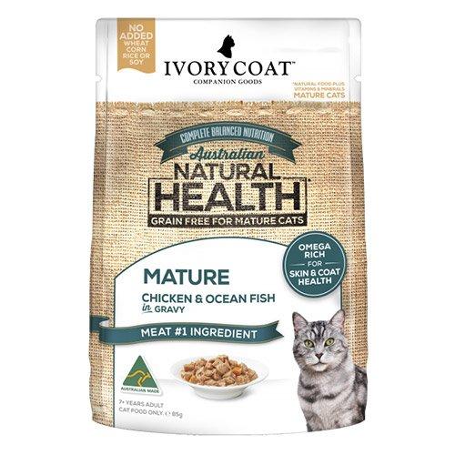 Ivory Coat Cat Mature Grain Free Light Chicken and Ocean Fish