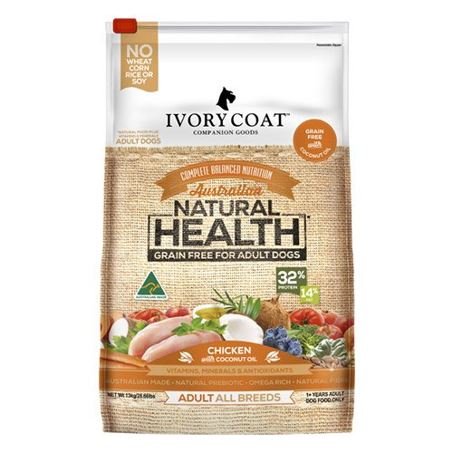 Ivory Coat Dog Adult Grain Free Chicken with Coconut Oil Breeder Bag