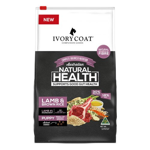 Ivory Coat Dog Adult Lamb and Brown Rice Breeder Bag