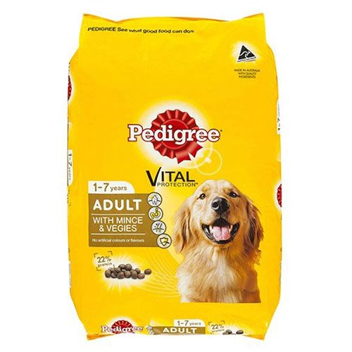 Pedigree Adult with Mince & Veggies Dog Food