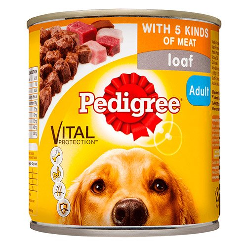 Pedigree Dog Adult Pick A Pack 5 Kinds Meat