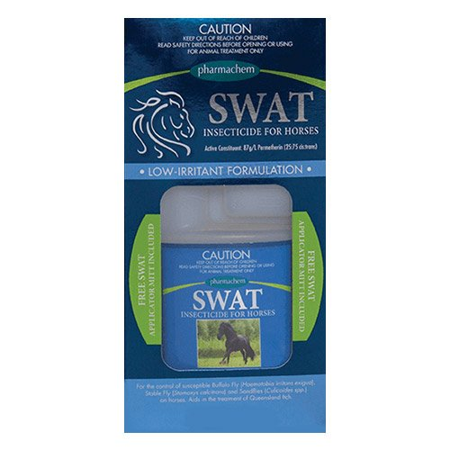 SWAT Insecticide Horse <span class='clsFreeUnit'>With Gloves</span>