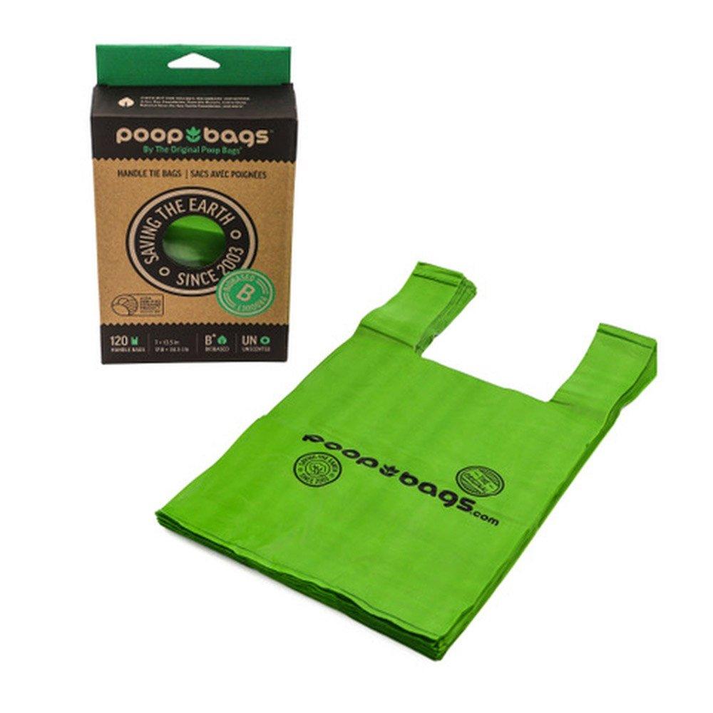 Poop Bags Handle Tie 120 Count Recycled