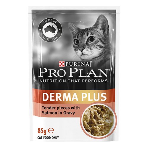 Pro Plan Cat Adult Derma Plus Pouch