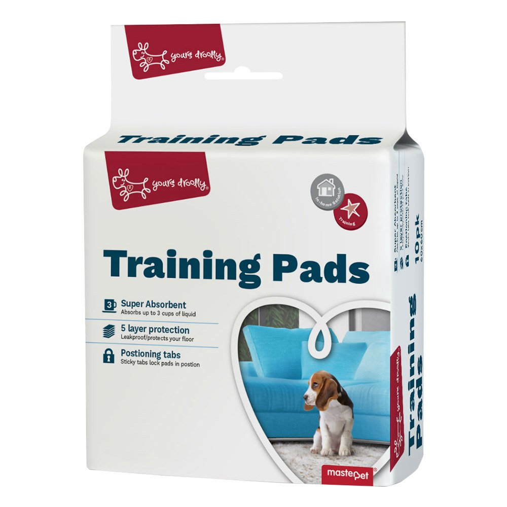 Yours Droolly Puppy Training Pads 10 Pads