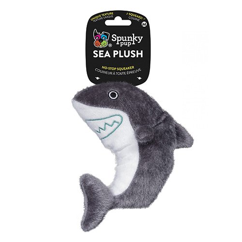 SEA PLUSH SHARK For Medium Dogs