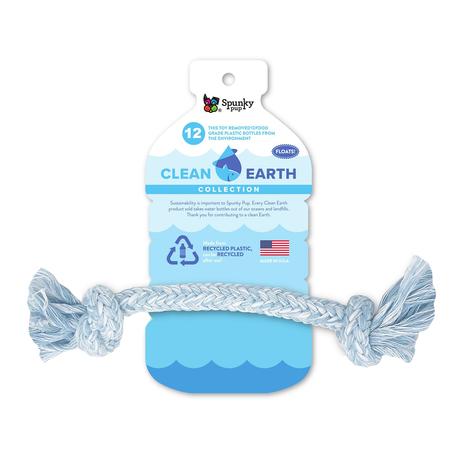 Clean Earth Recycled Rope Large
