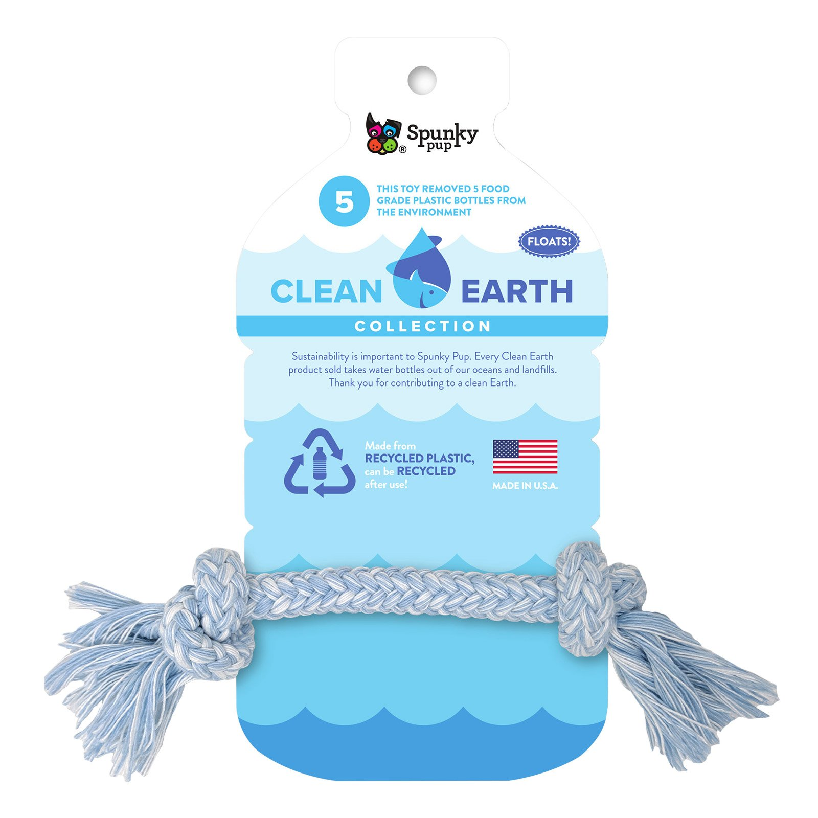 Clean Earth Recycled Rope Small