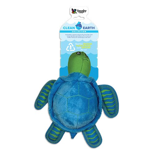 Clean Earth Turtle Small Plush