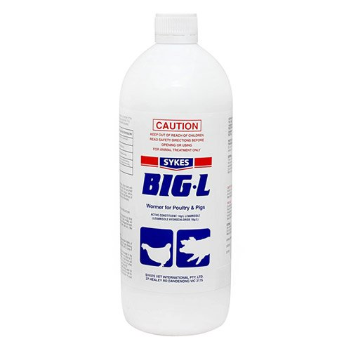 Big L Wormer for Pigs & Poultry