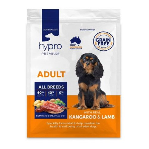 Hypro Premium Kangaroo and Lamb Adult Dry Dog Food