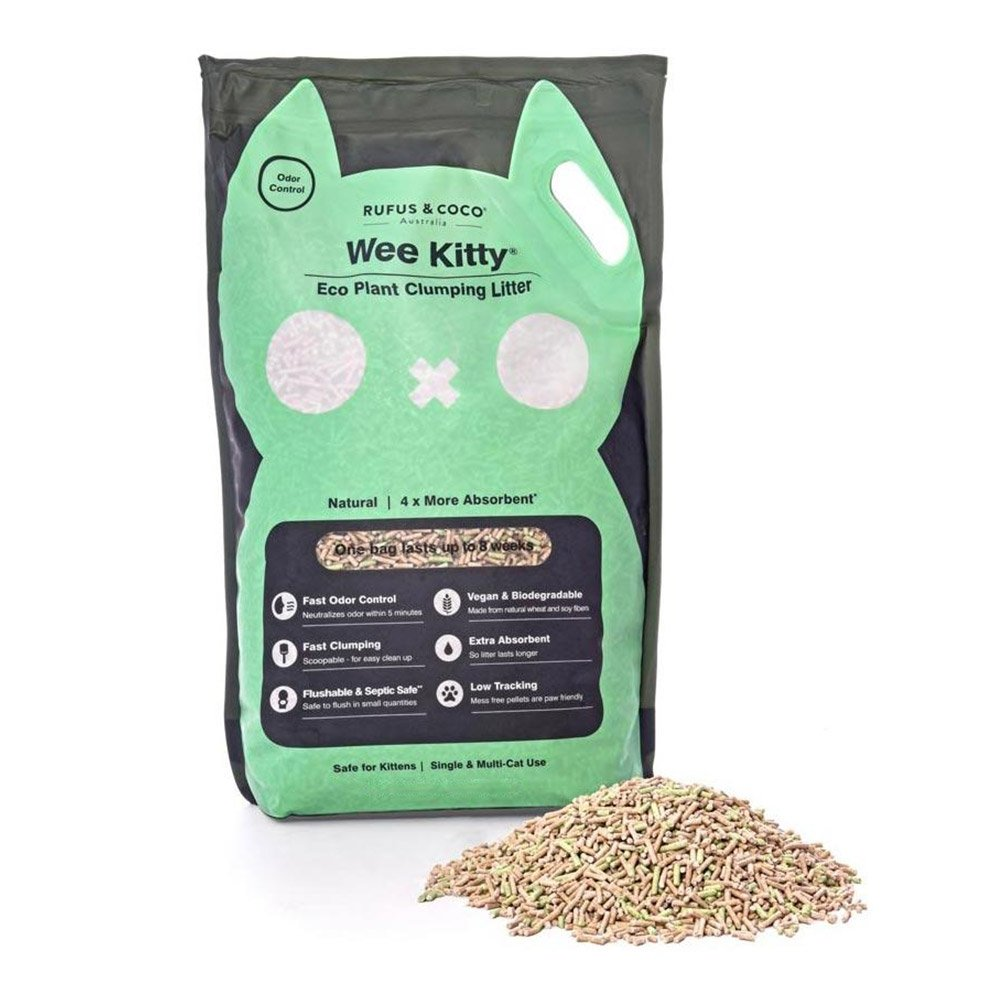 Wee Kitty Eco Plant Clumping Litter