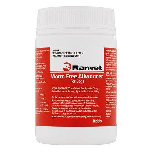 Ranvet Allwormer Small Dog 10 Kg