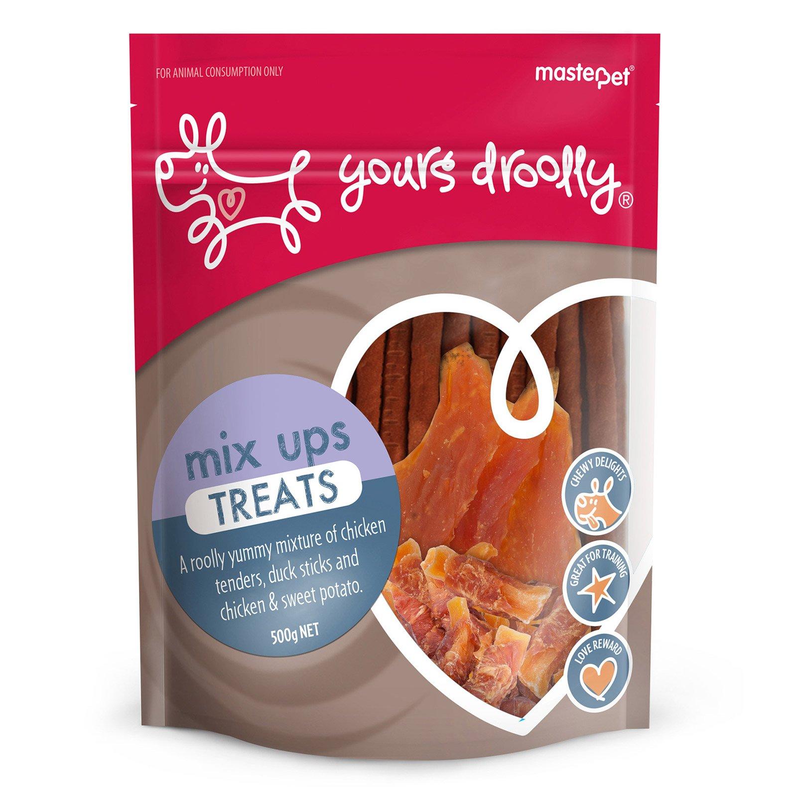 Yours Droolly Mix Up Treats Dog Treats