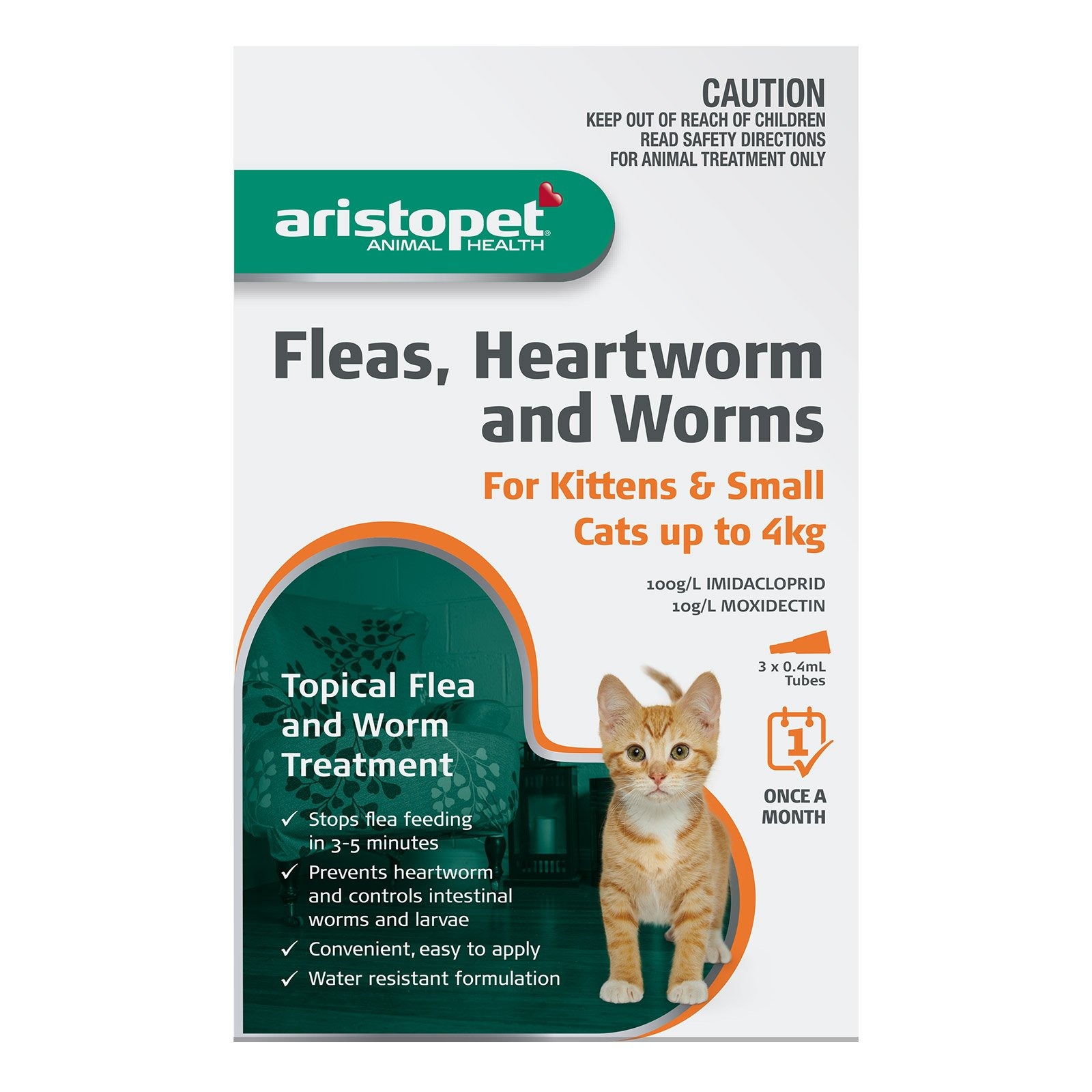 Aristopet Spot Treatment Kitten/Cat