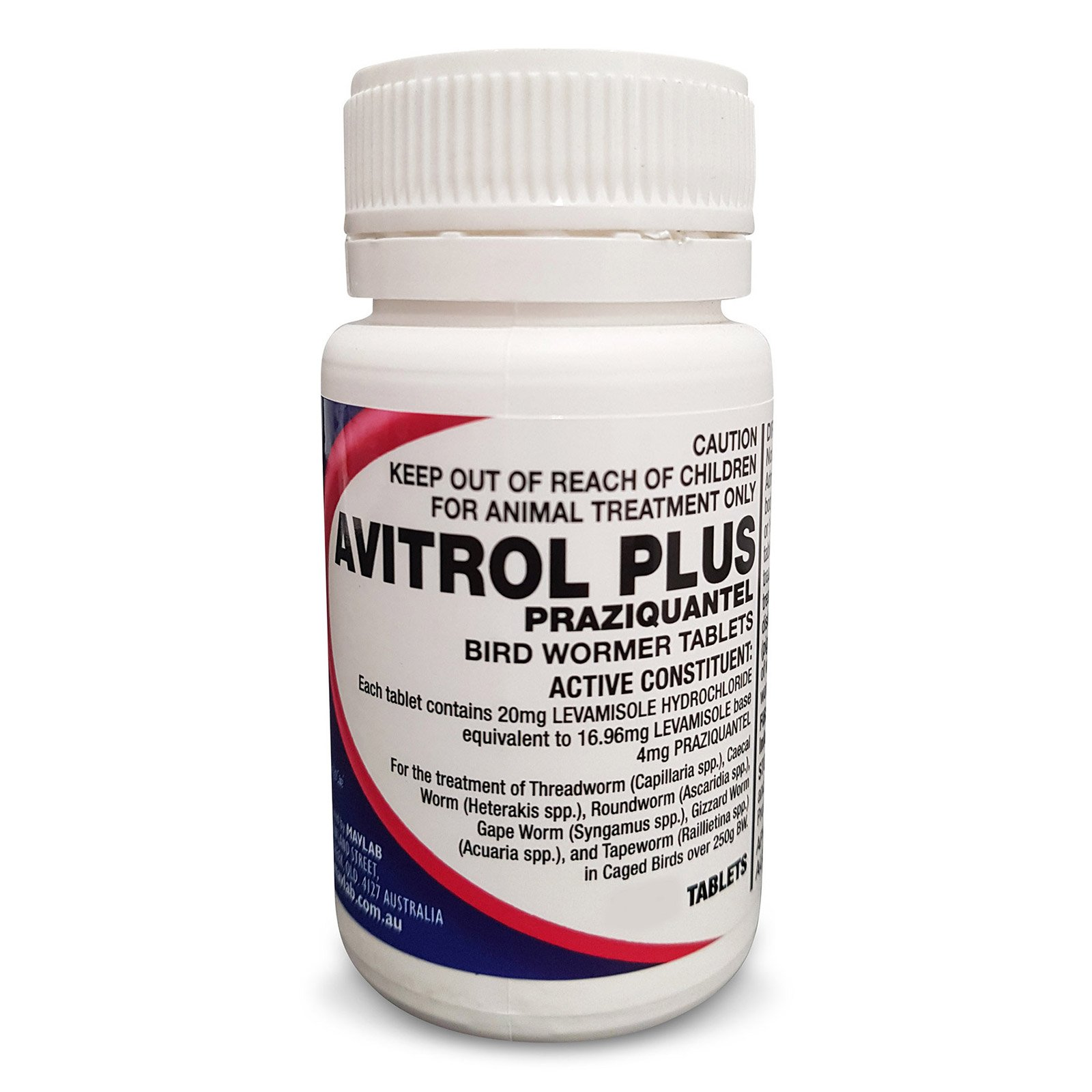 Avitrol Plus Wormer Tablets for Birds