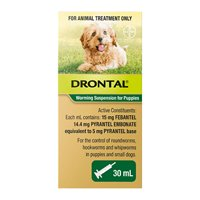 Drontal Wormers Puppy Worming Suspension