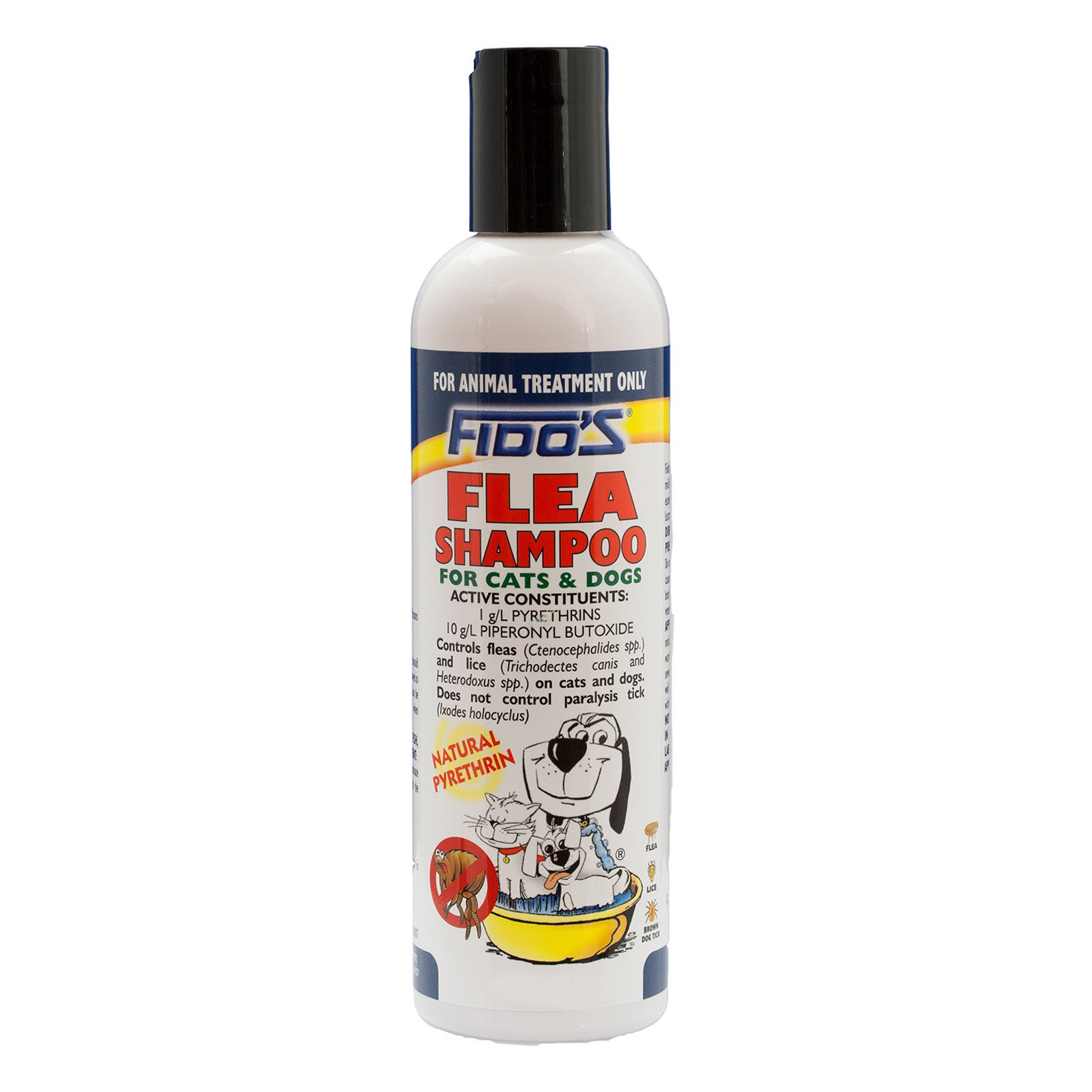 Fido's Flea Shampoo For Dogs 250 Ml