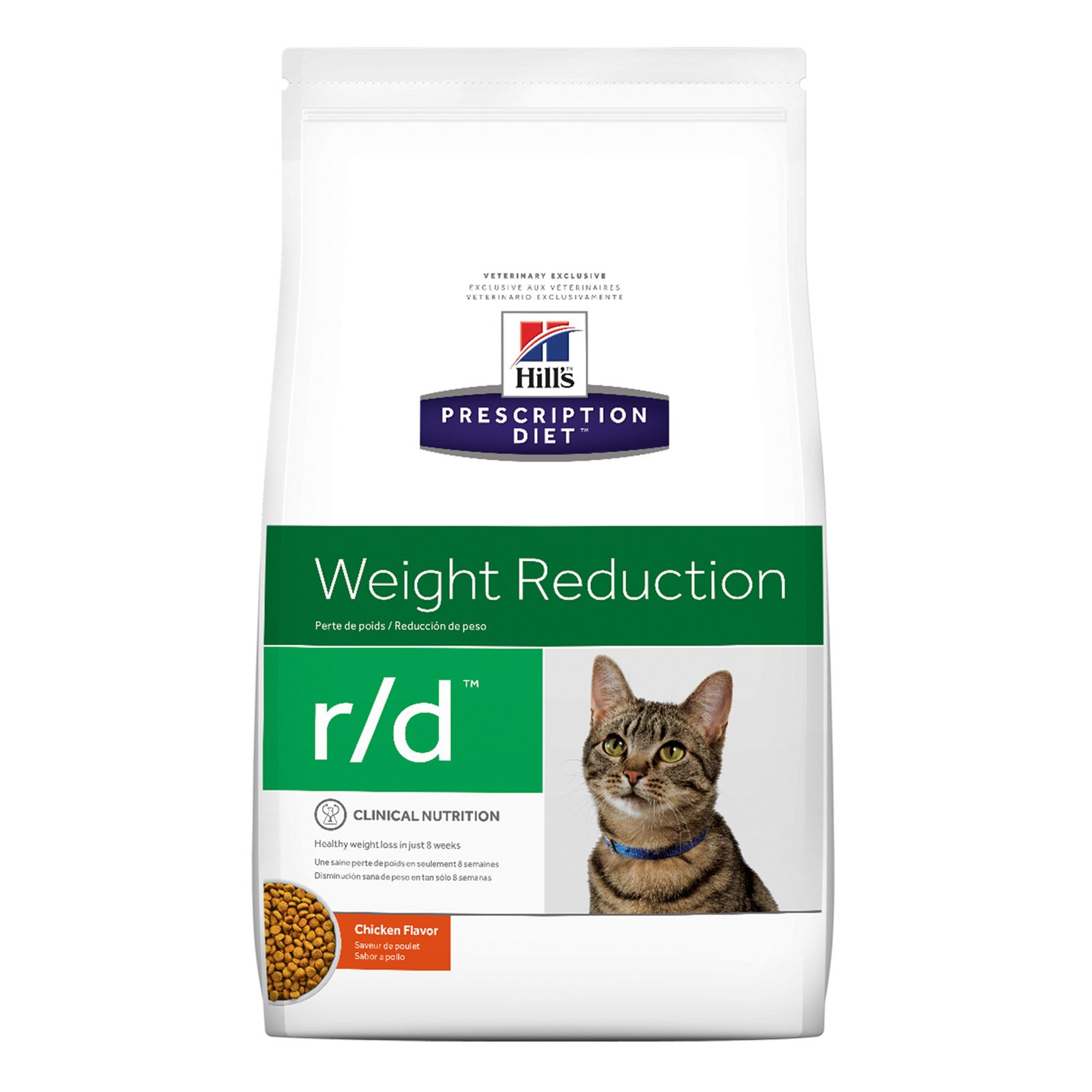Hill's Prescription Diet r/d Weight Reduction with Chicken Dry Cat Food