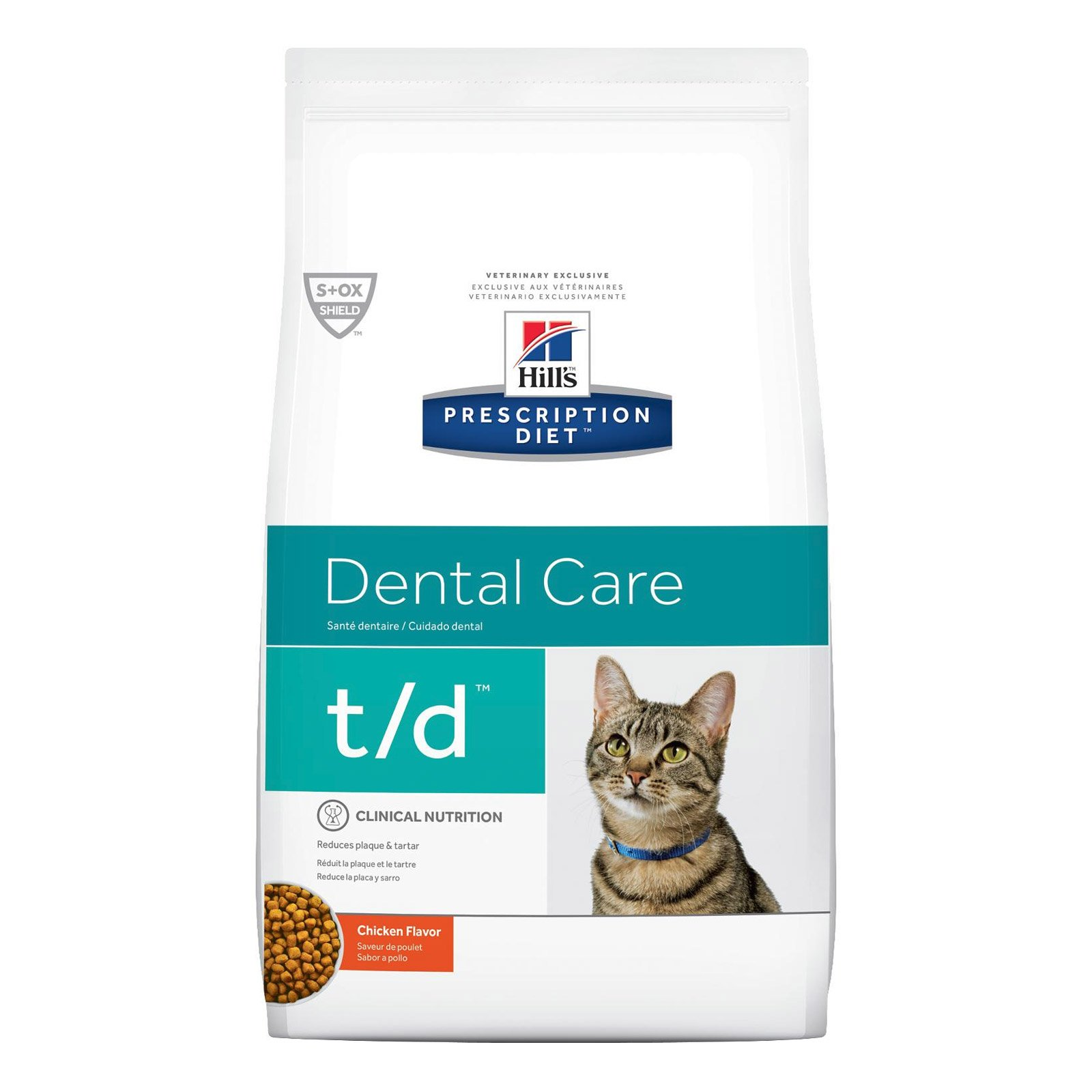 Hill's Prescription Diet t/d Dental Care Dry Cat Food