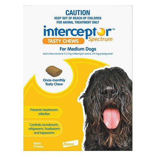 Interceptor Spectrum Tasty Chews