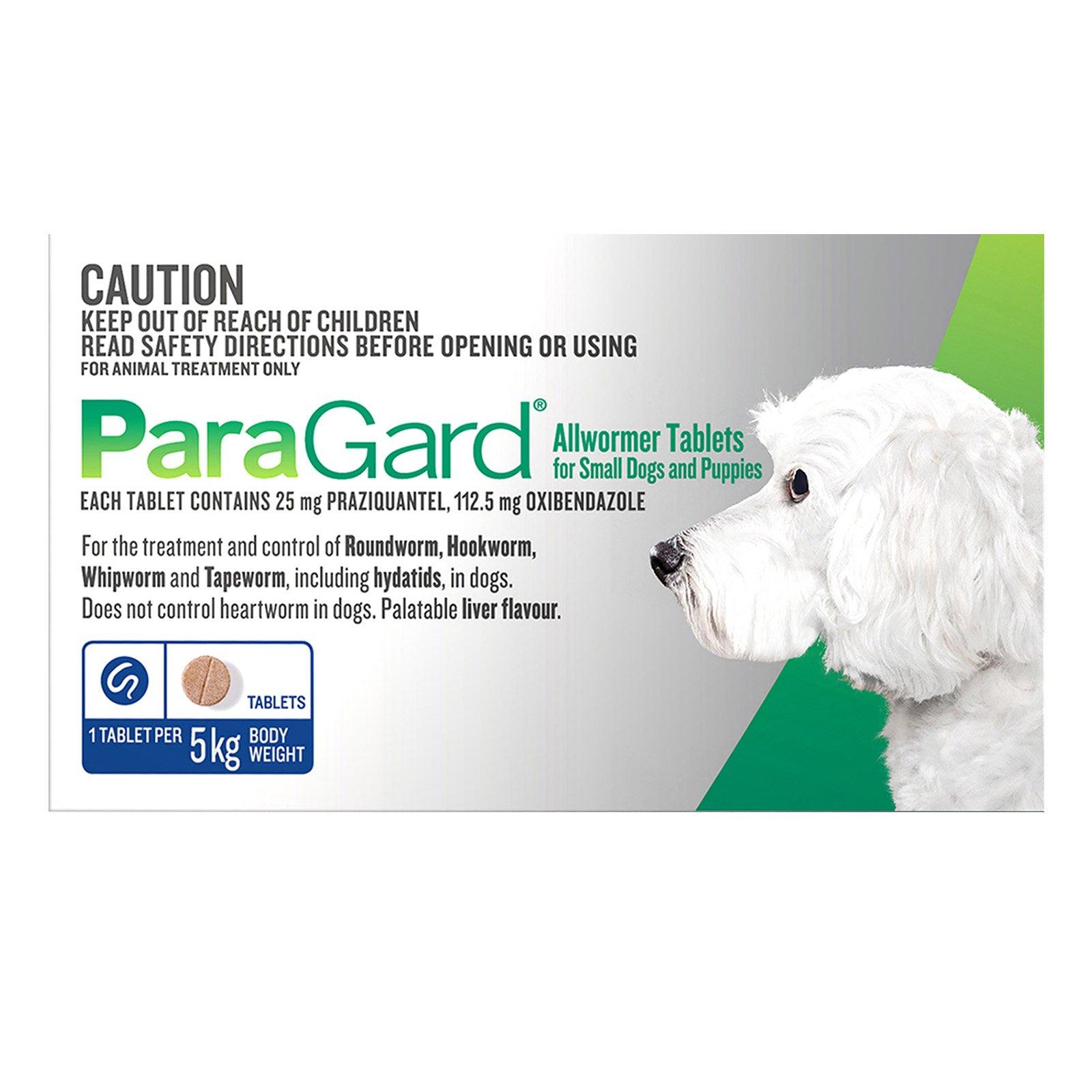 Paragard Broad Spectrum Wormer