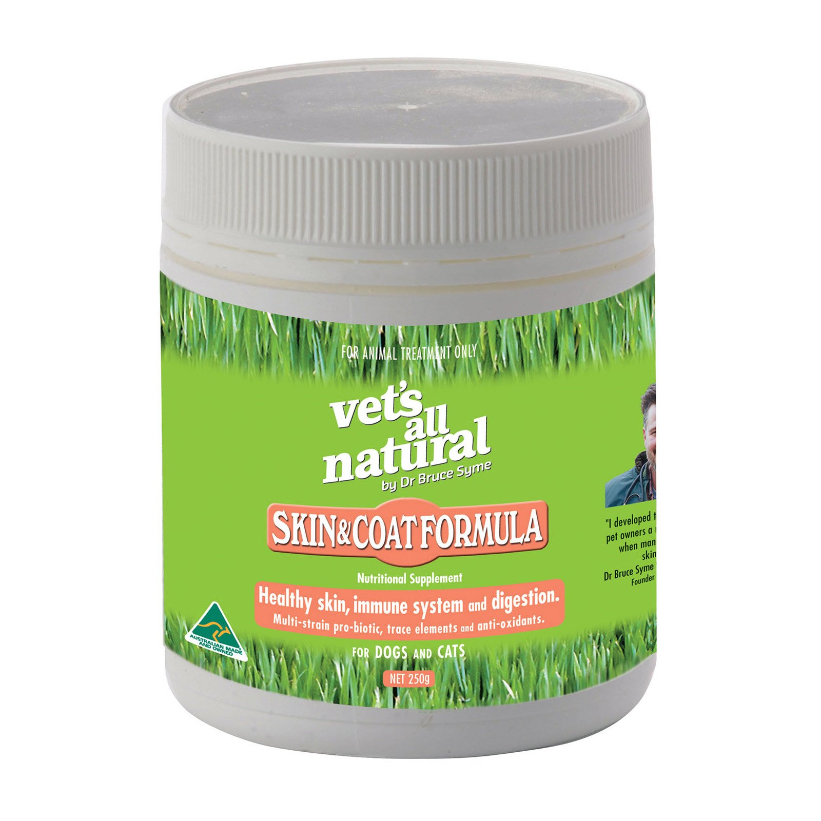 Vet's all Natural Skin& Coat Formula